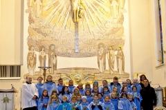 Przyjęcie nowych ministrantów i scholistek - 24.11.2013