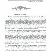 List do Ks. abp Stanisława Gądeckiego